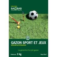 GAZON SPORT ET JEUX BAOBAB 1KG