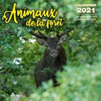 CALENDRIER ANIMAUX DE LA FORET 2021