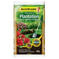 Terreau Plantation Arbres, Arbustes et Rosiers 40L
