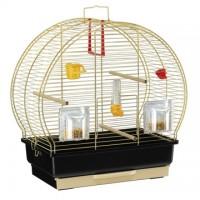 Cage LUNA 2 pour canaris et petits oiseaux exotiques. Laitonnée