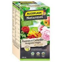 INSECTICIDE PUCERONS COCHENILLES ARAIGNEES ROUGES 250ML