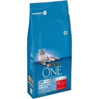 PURINA ONE CHAT STERILISE BOEUF/BLE 3KG